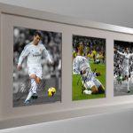 Cristiano Ronaldo. Signed Real Madrid Photo Photograph Picture Frame.