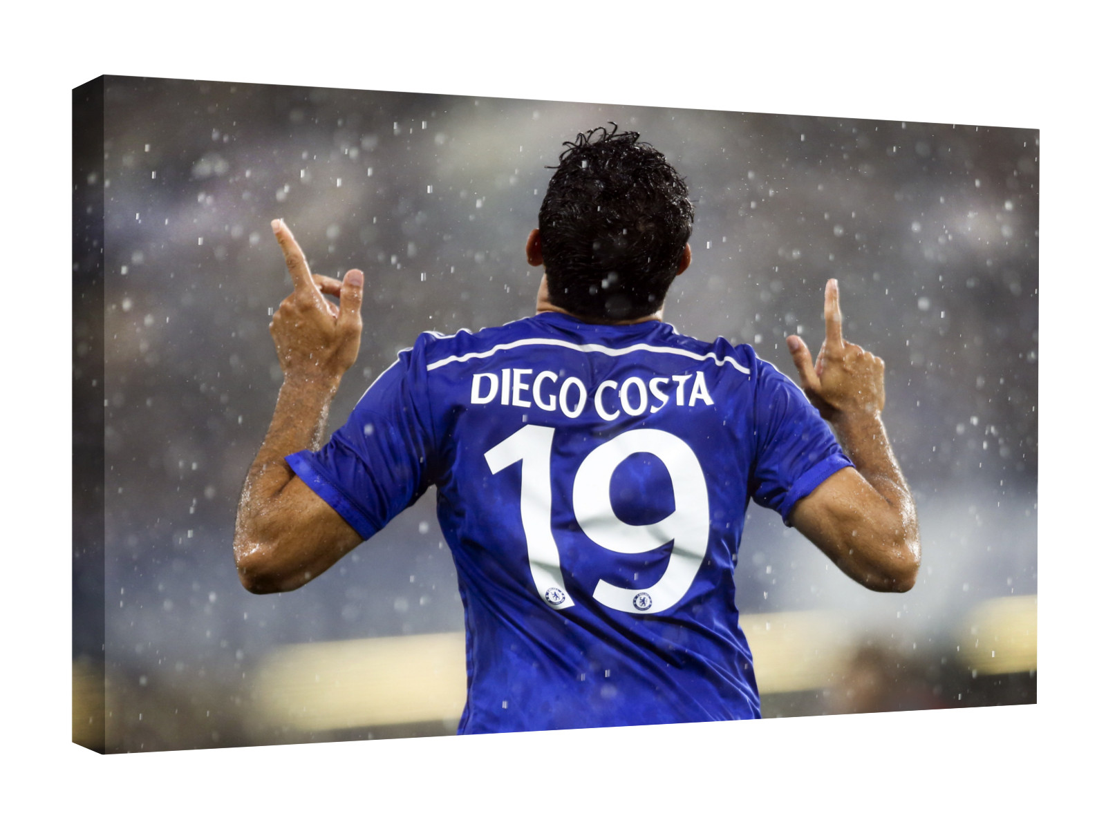 Diego Costa Canvas Wall Art. Chelsea Photo Picture Photograph Print.