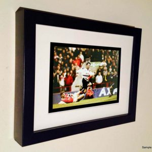 Ryan Giggs Arsenal Goal. Signed Manchester United Photo Picture Photograph Frame. Autographed Reprint. 7×5.