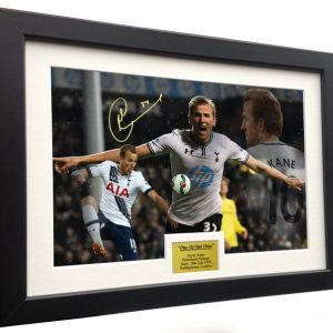 "Harry Kane ""ONE OF OUR OWN"". Signed Tottenham Hotspur Photo Picture Photograph Frame. Autographed Reprint. A4 Size (12 x 8)."