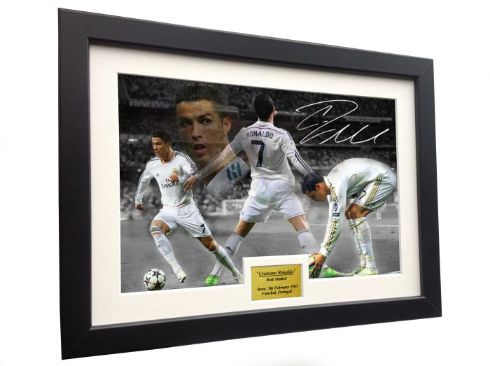 Cristiano Ronaldo. Signed Real Madrid